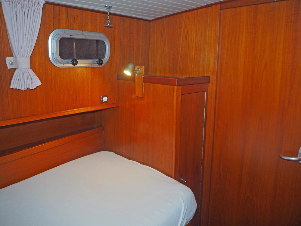 Aft cabin, Accommodation